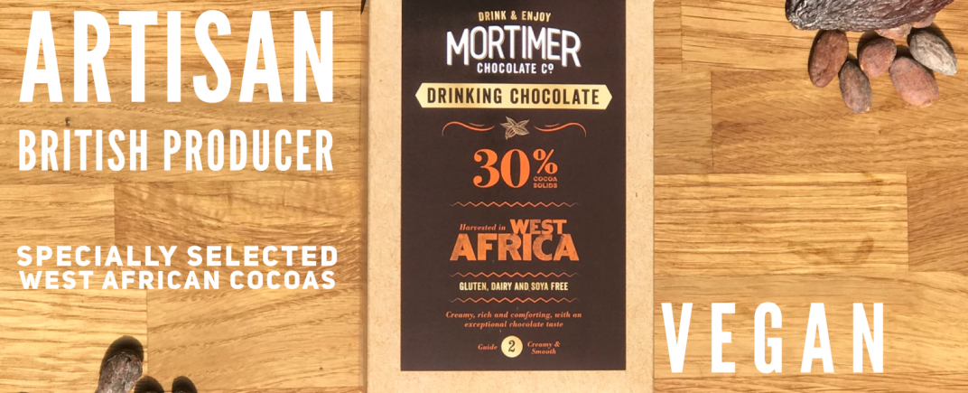 250g box 30% Drinking Chocolate for a comforting hot chocolate